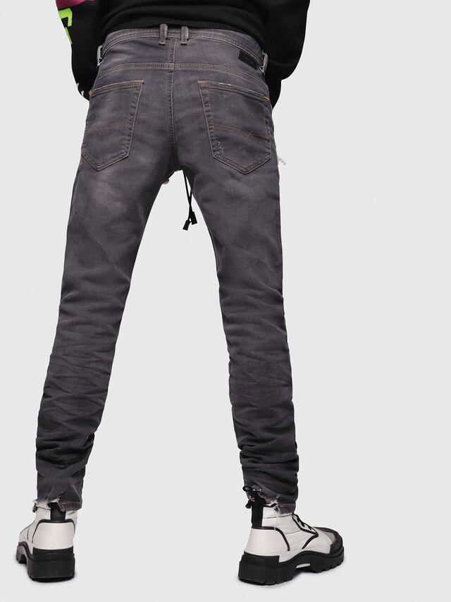 Diesel - Thommer JoggJeans 069EM, Black/Dark grey - Jeans - Image 2