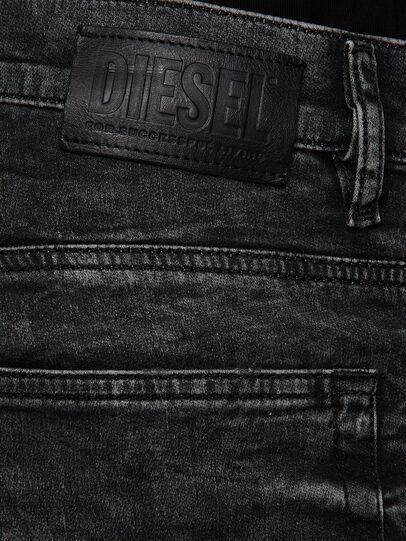 Diesel - D-Reeft JoggJeans 009FZ, Black/Dark grey - Jeans - Image 4