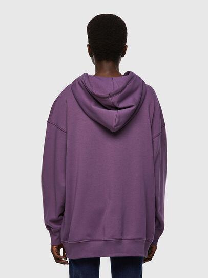 Diesel - F-GULLY-HOOD-ZIP, Dark Violet - Sweaters - Image 2