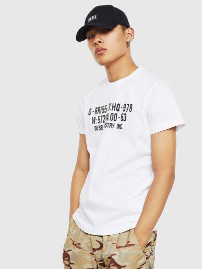 Diesel - T-DIEGO-S2, White - T-Shirts - Image 1