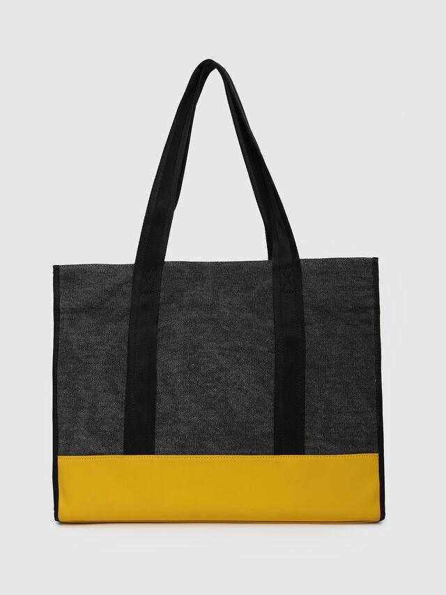 Diesel - M-CAGE SHOPPER, Dark Melange - Shopping and Shoulder Bags - Image 2