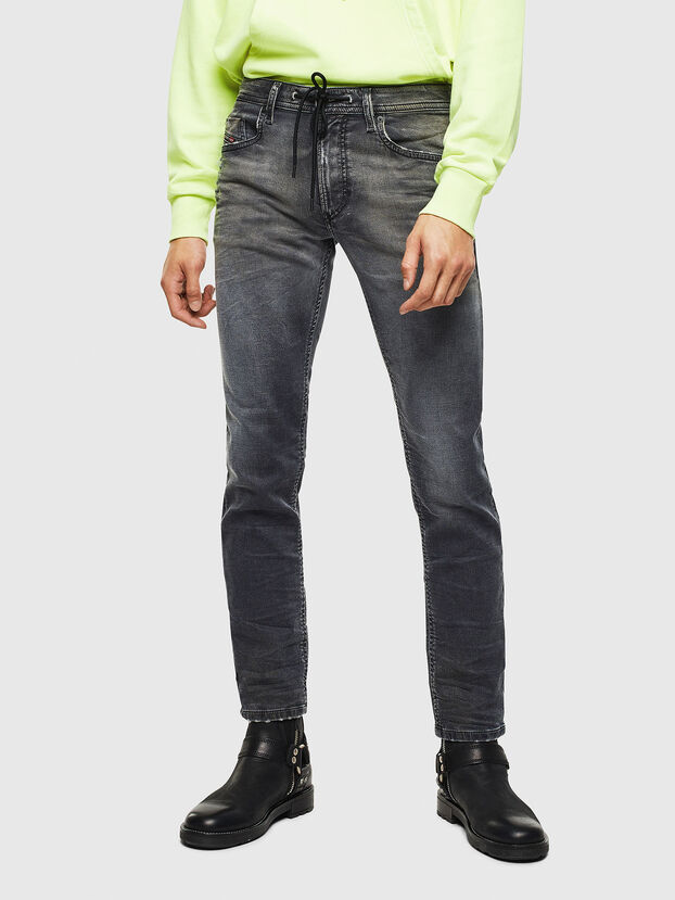 Thommer JoggJeans 069KK, Black/Dark grey - Jeans