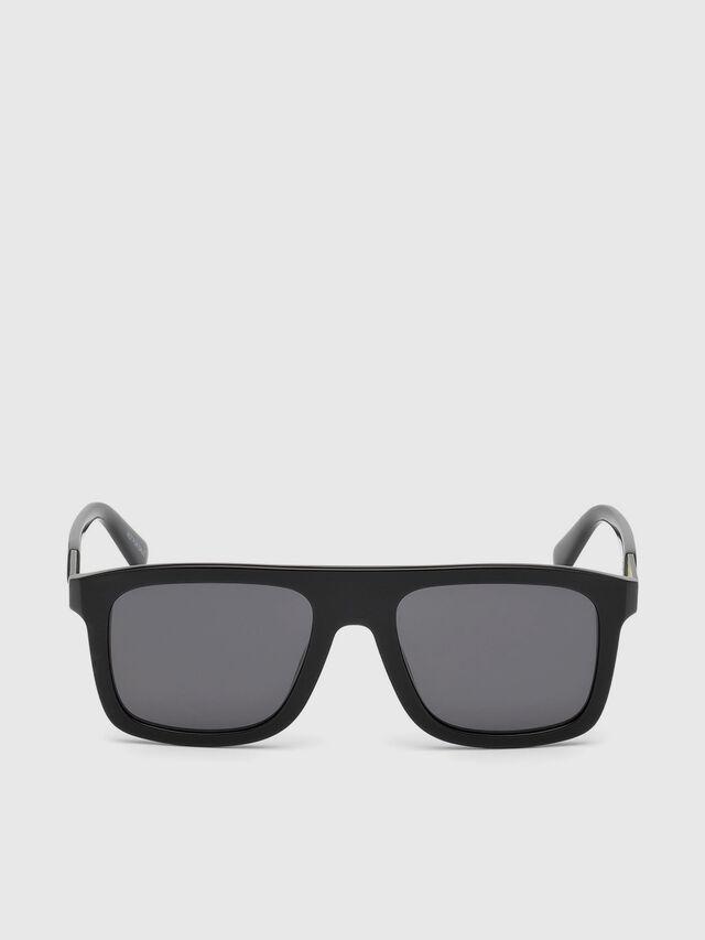 Diesel - DL0268, Black - Eyewear - Image 1