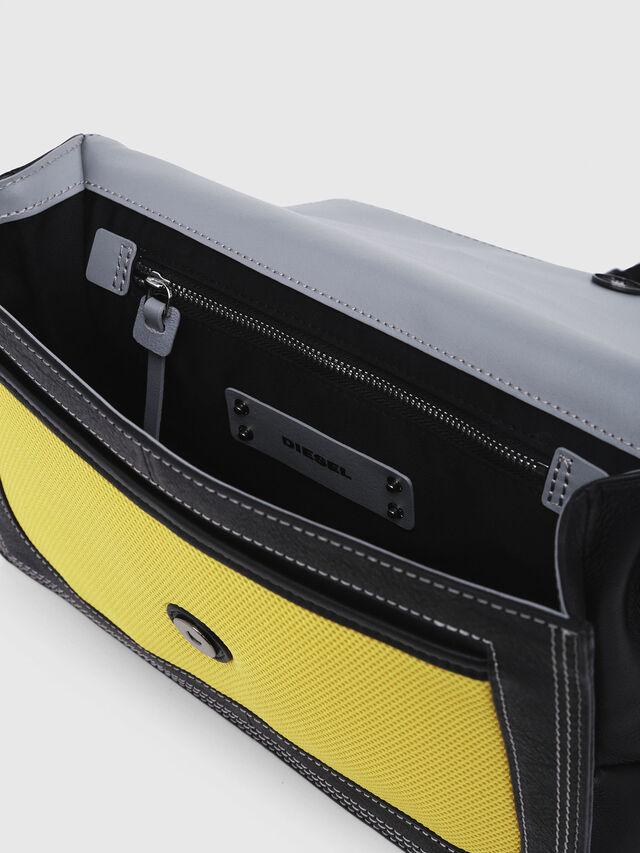 Diesel - MISS-MATCH CROSSBODY, Blue/Yellow - Crossbody Bags - Image 4