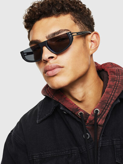 Diesel - DL0315, Black - Sunglasses - Image 5