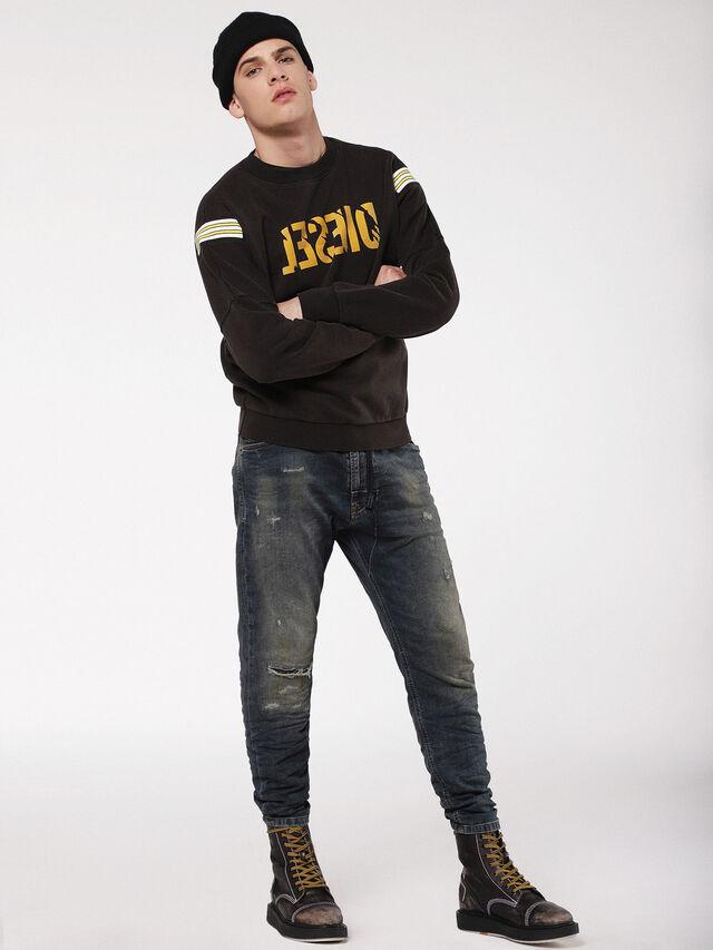 Diesel - Narrot JoggJeans 0699V, Dark Blue - Jeans - Image 4