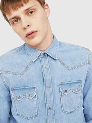 D-LEO, Light Blue - Denim Shirts