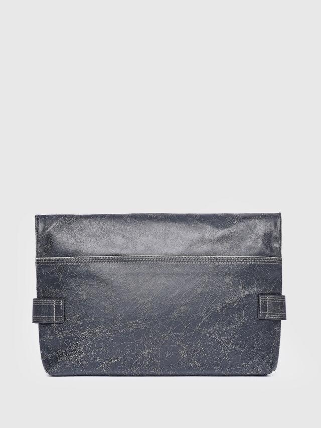 Diesel - L-BLAID RANNER CLUTC, Black Leather - Clutches - Image 2