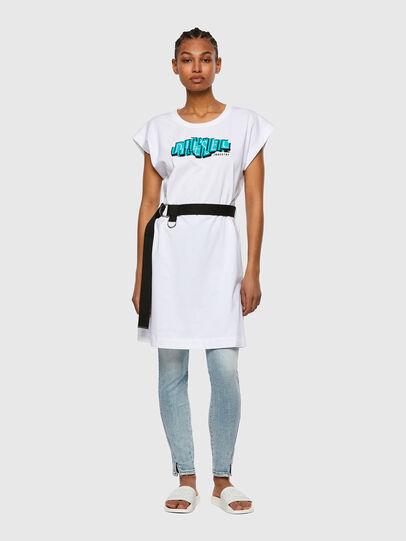 Diesel - D-EASIEL, White - Dresses - Image 1