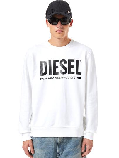 Diesel - S-GIRK-ECOLOGO, White - Sweaters - Image 1