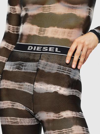 Diesel - UFLB-ASRIN-K, Black/White - Pants - Image 3
