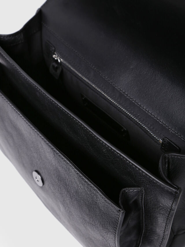 Diesel - MISS-MATCH CROSSBODY, Black Leather - Crossbody Bags - Image 3