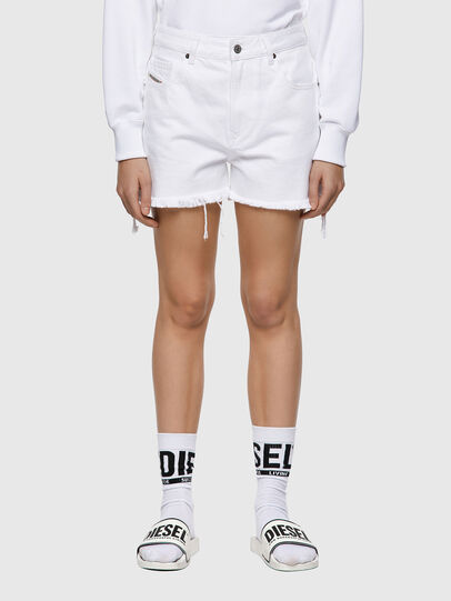 Diesel - DE-REG-R, White - Shorts - Image 1
