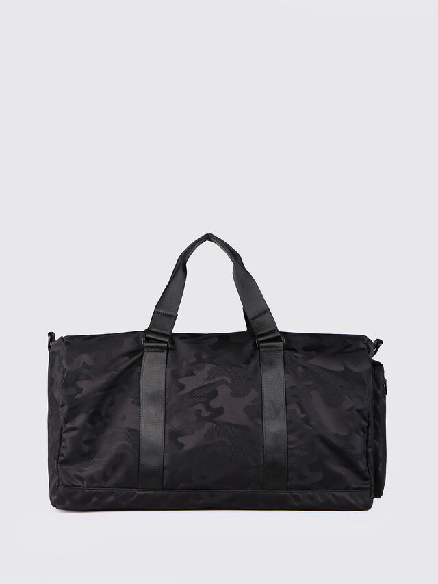 Diesel - F-DISCOVER DUFFLE, Black - Travel Bags - Image 2
