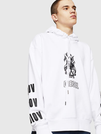 Diesel - S-ALBY-A1, White - Sweaters - Image 3