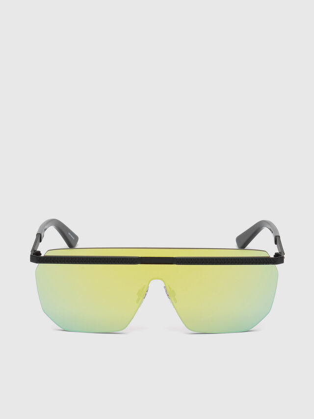 Diesel - DL0259, Green - Sunglasses - Image 1