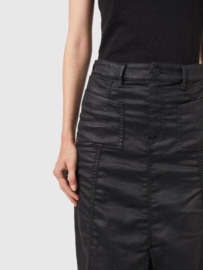 Diesel - D-PAU-SP JOGGJEANS, Black - Skirts - Image 3