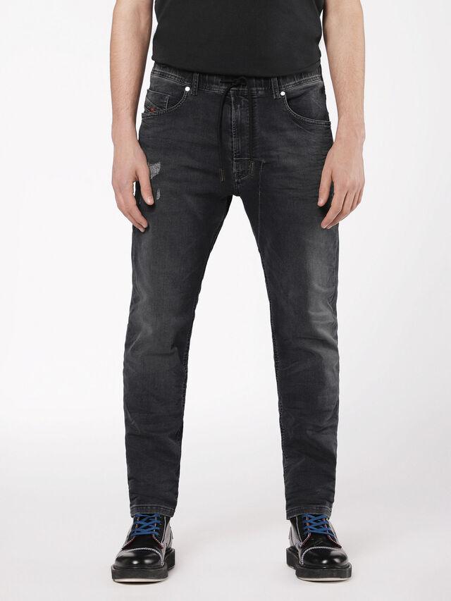 Diesel - Narrot JoggJeans 069AF, Black/Dark grey - Jeans - Image 1