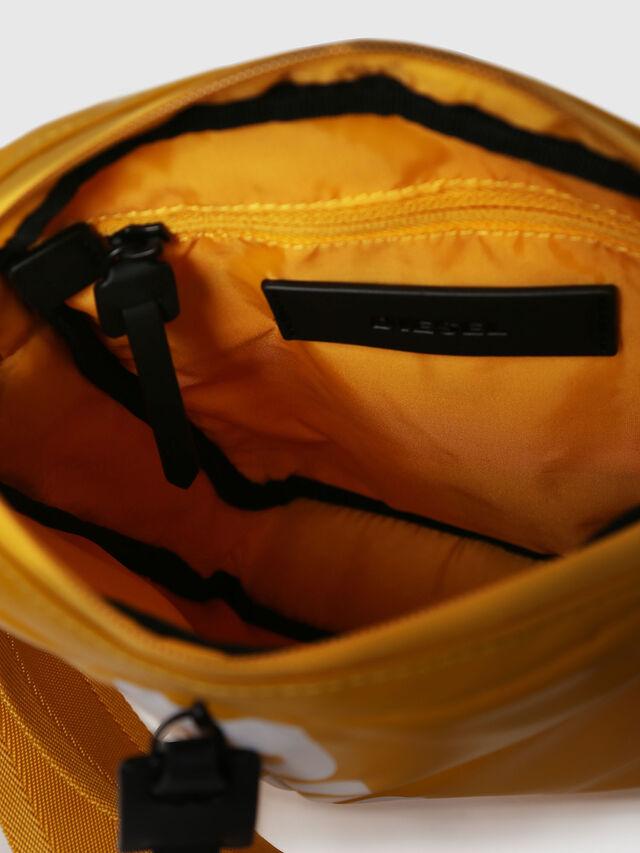 Diesel - F-BOLD SMALL CROSS, Honey - Crossbody Bags - Image 4