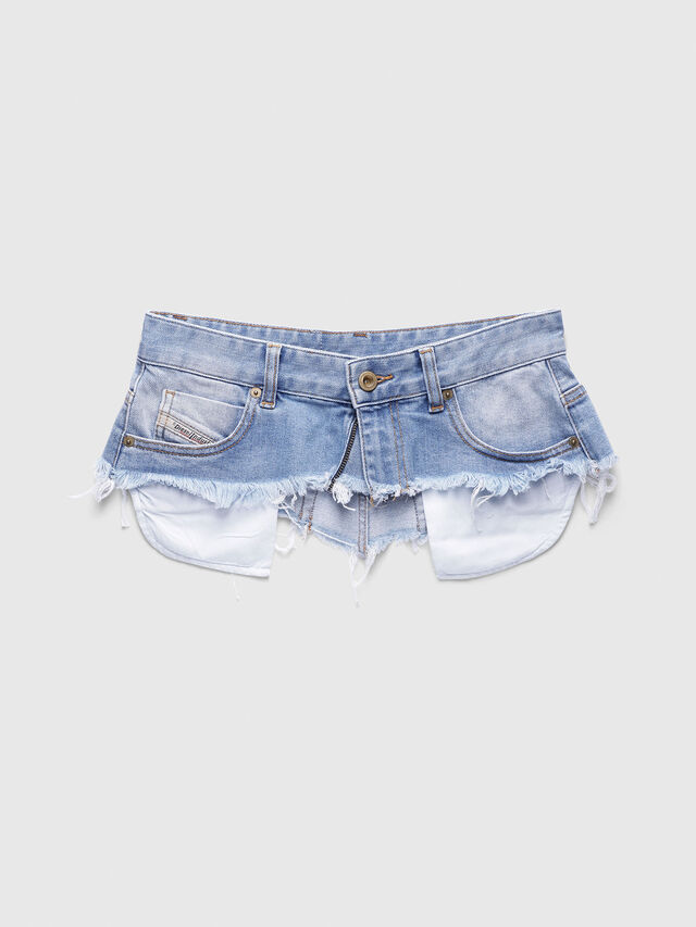 Diesel - BELT HIGH WAIST, Blue Jeans - Skirts - Image 1