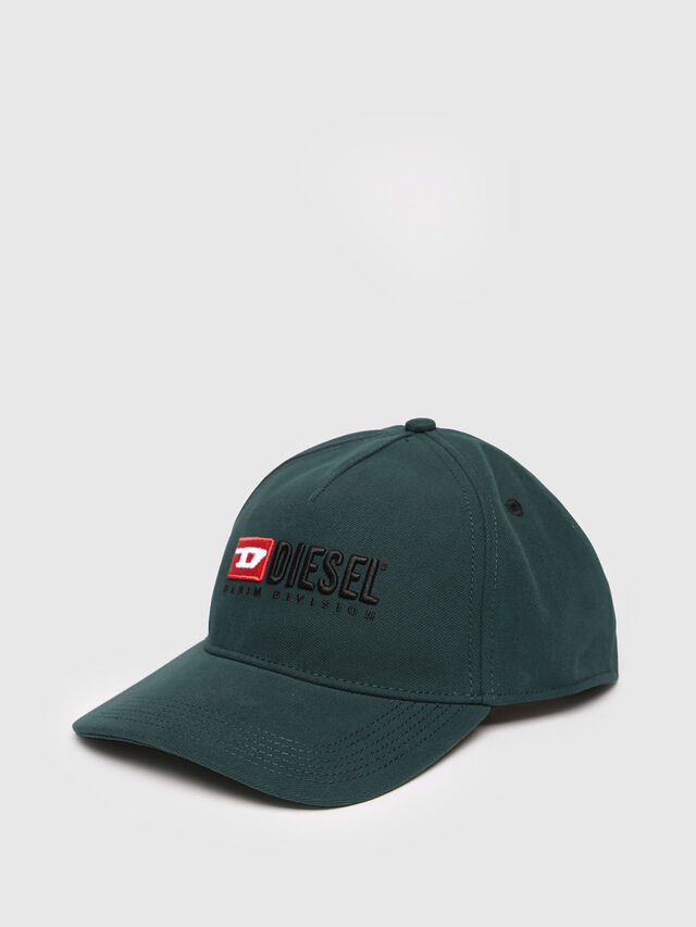 Diesel - CAKERYM-MAX, Bottle Green - Caps, Hats and Gloves - Image 2
