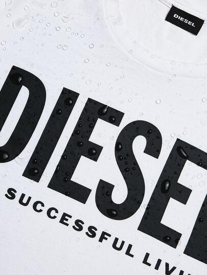 Diesel - T-DIEGO-LOGO, White - T-Shirts - Image 5