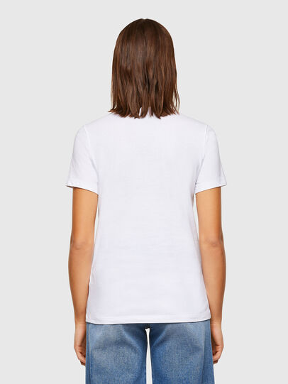 Diesel - T-SILY-K6, White - T-Shirts - Image 2