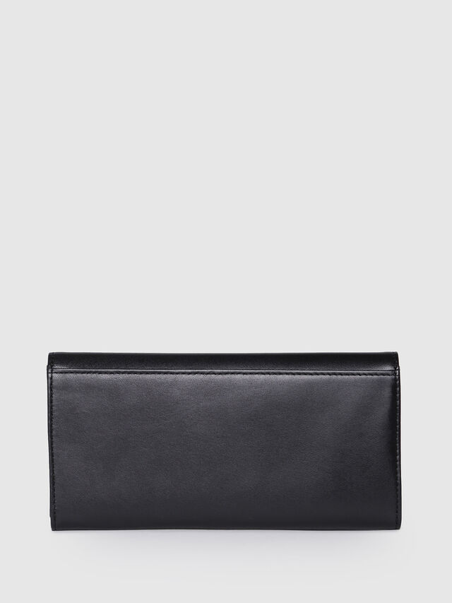 Diesel - 24 A DAY P, Black/Yellow - Continental Wallets - Image 2