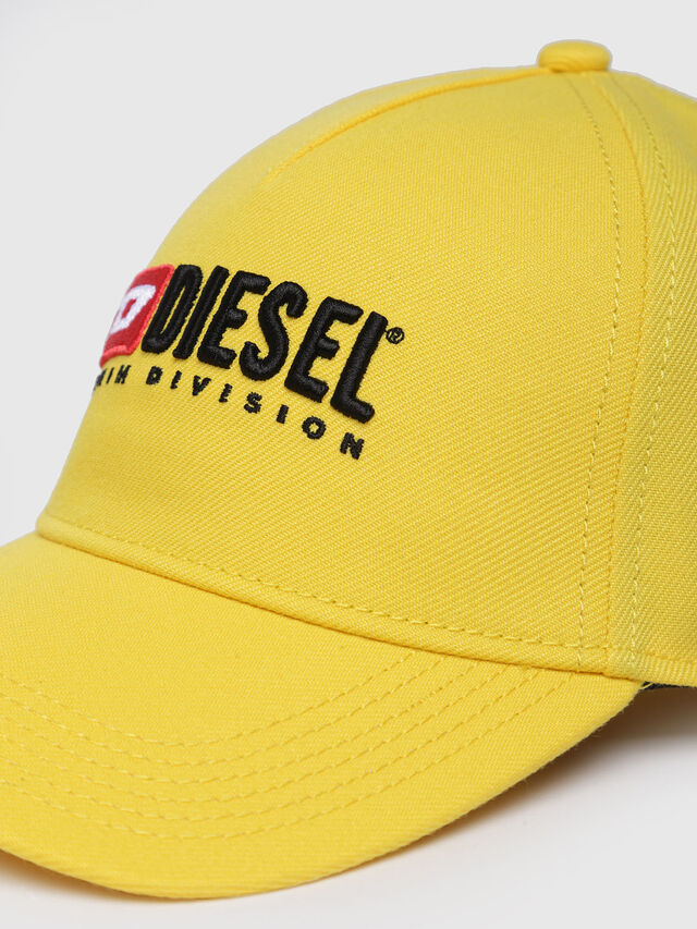 Diesel - CAKERYM-MAX, Yellow - Caps, Hats and Gloves - Image 3