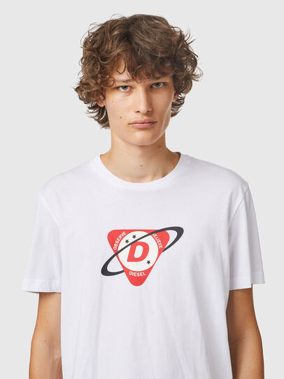 Diesel - T-DIEGOS-K24, White - T-Shirts - Image 3