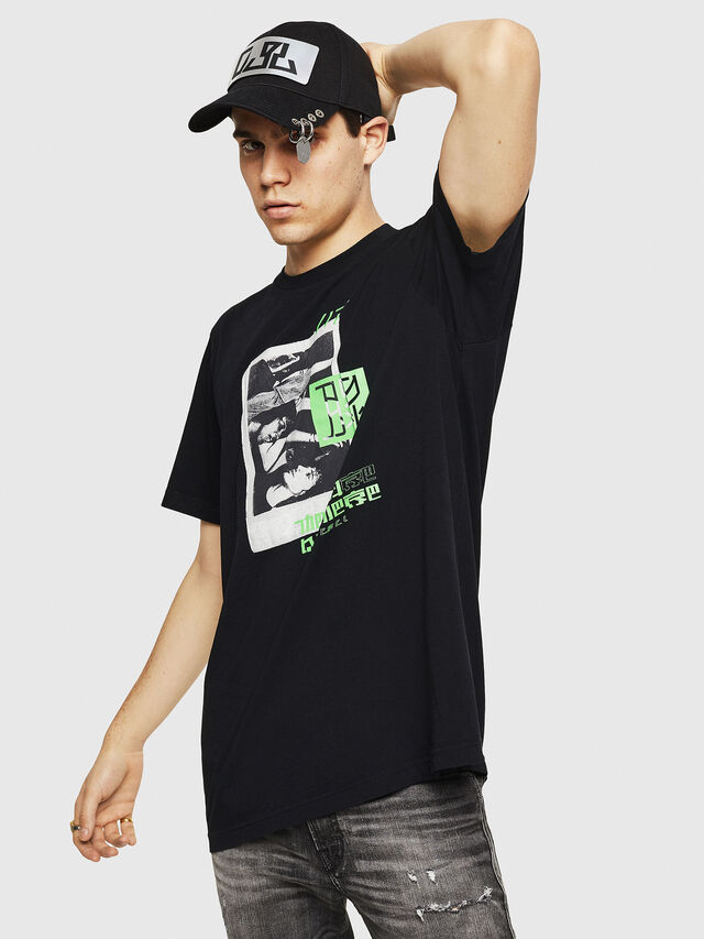Diesel - T-JUST-Y21, Black - T-Shirts - Image 1