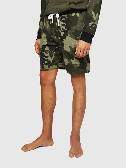 Diesel - UMLB-PAN, Green Camouflage - Pants - Image 1