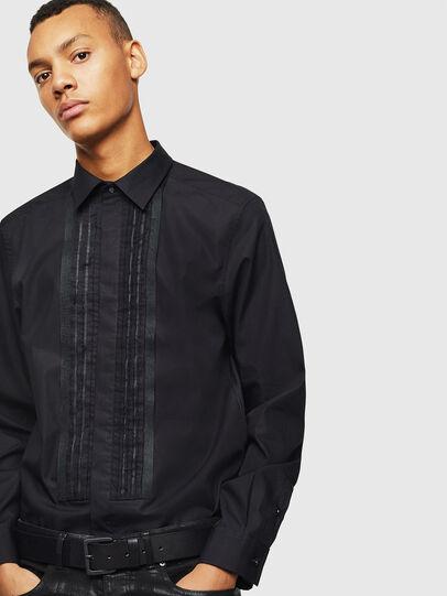 Diesel - S-PLIS, Black - Shirts - Image 4