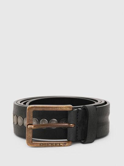 Diesel - B-LATERAL, Black - Belts - Image 1