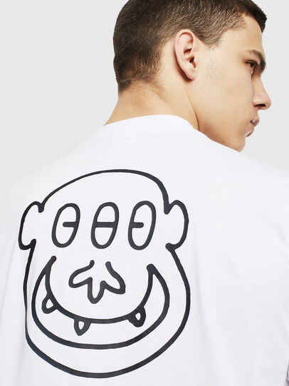 Diesel - T-JUST-T28, White - T-Shirts - Image 3