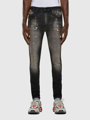 D-Reeft JoggJeans 009FX, Black/Dark grey - Jeans