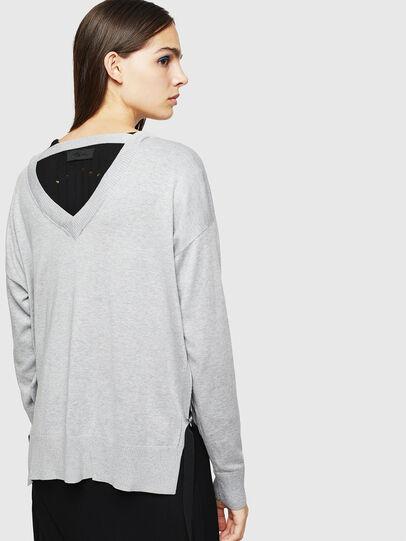 Diesel - M-PERLA, Grey - Knitwear - Image 2