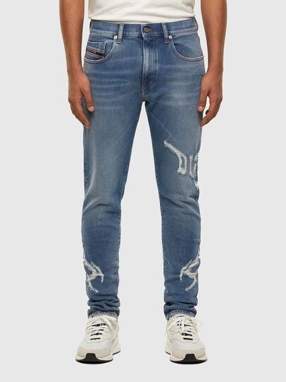 Diesel - D-Strukt 009DW, Light Blue - Jeans - Image 1