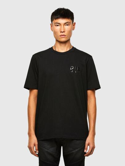 Diesel - T-JUST-SLITS-A30, Black - T-Shirts - Image 1