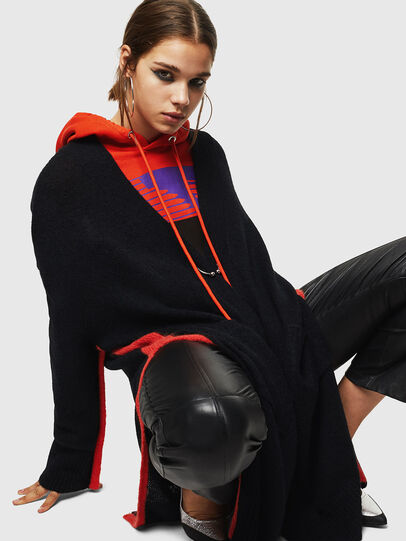 Diesel - M-SURI, Black/Red - Knitwear - Image 4