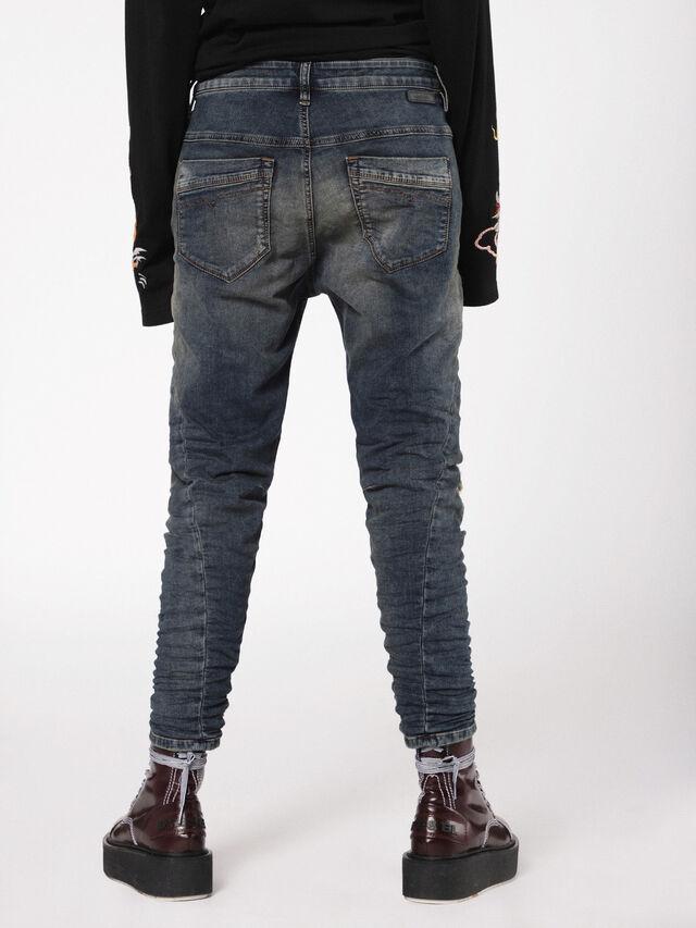Diesel - Fayza JoggJeans 0699V, Dark Blue - Jeans - Image 2