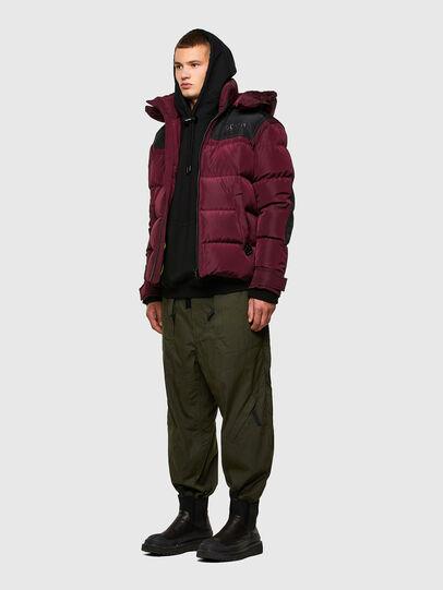 Diesel - W-RUSSELL, Violet - Winter Jackets - Image 6