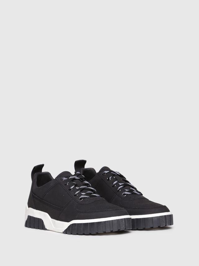 Diesel - S-RUA LC W, Black - Sneakers - Image 2