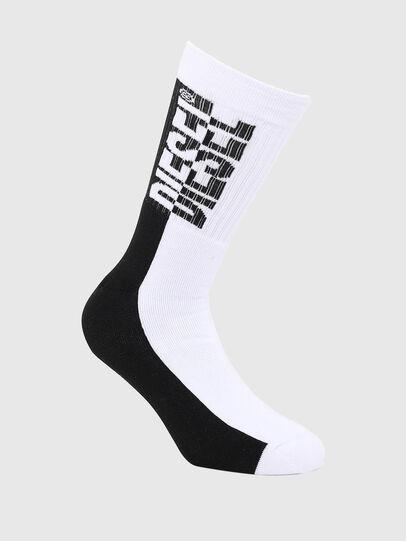 Diesel - SKM-RAY, Black/White - Socks - Image 1