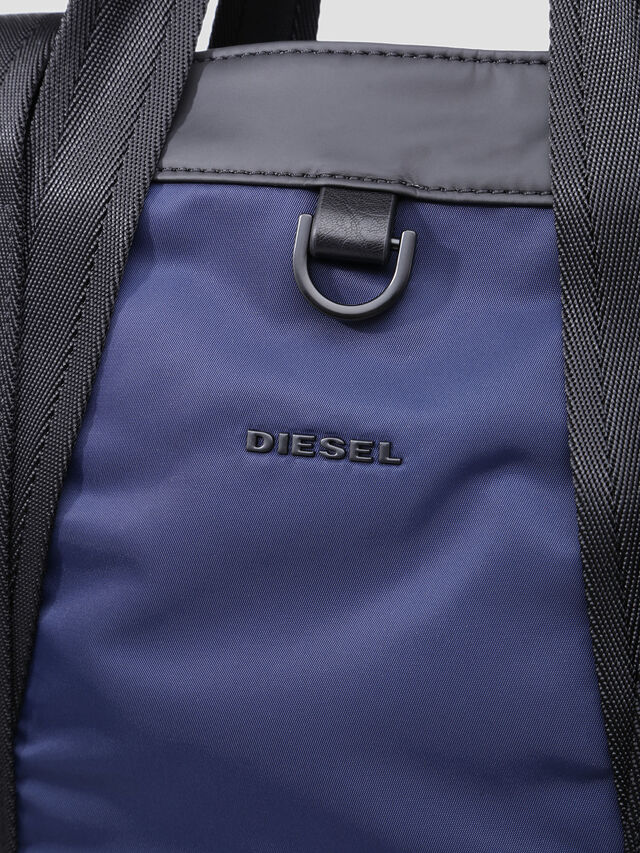 Diesel - VOLPAGO TOTE, Blue/Black - Shopping and Shoulder Bags - Image 5