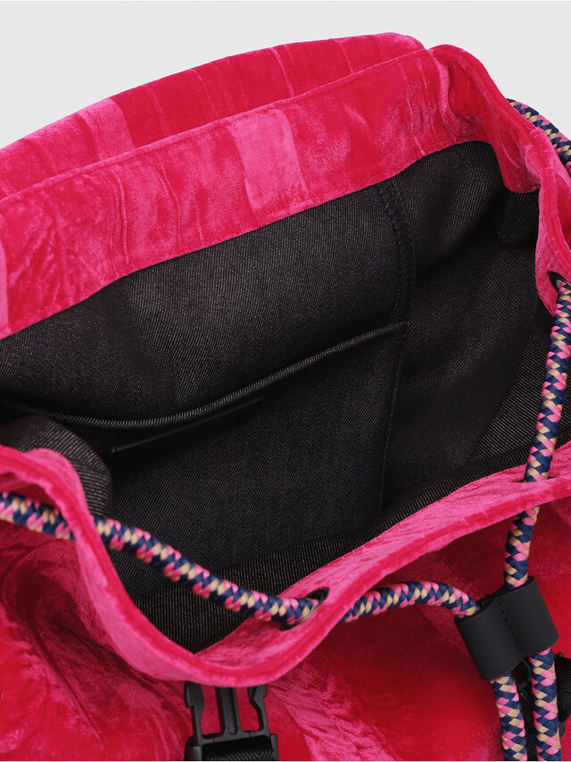 Diesel - F-MUSILE BACKPACK, Pink Fluo - Clutches - Image 3