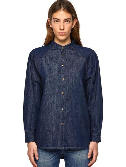 Diesel - DE-NOVA-SP, Blue - Denim Shirts - Image 1