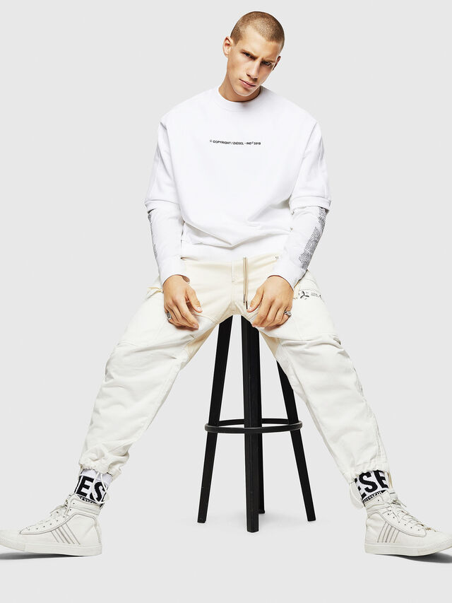 Diesel - S-MAGGY-SH-COPY, White - Sweaters - Image 4