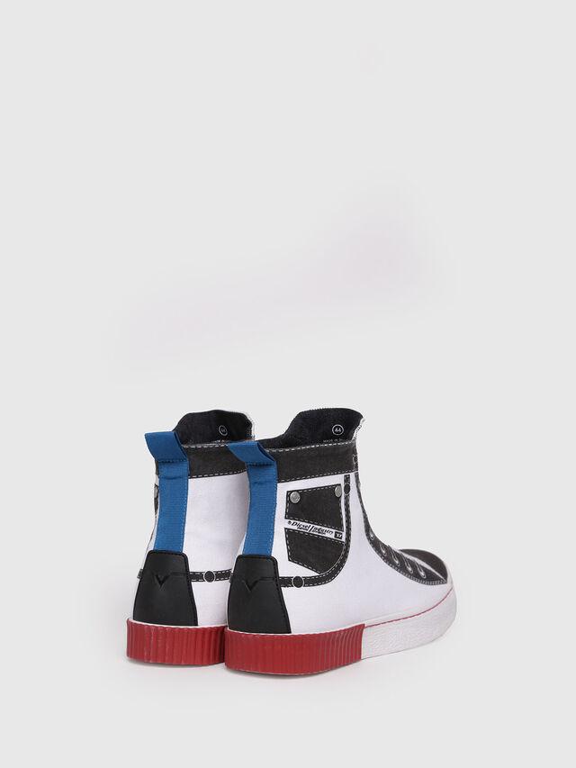 Diesel - S-DIESEL IMAGINEE MID, White - Sneakers - Image 2