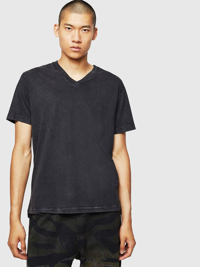 Diesel - T-THEA, Black - T-Shirts - Image 1